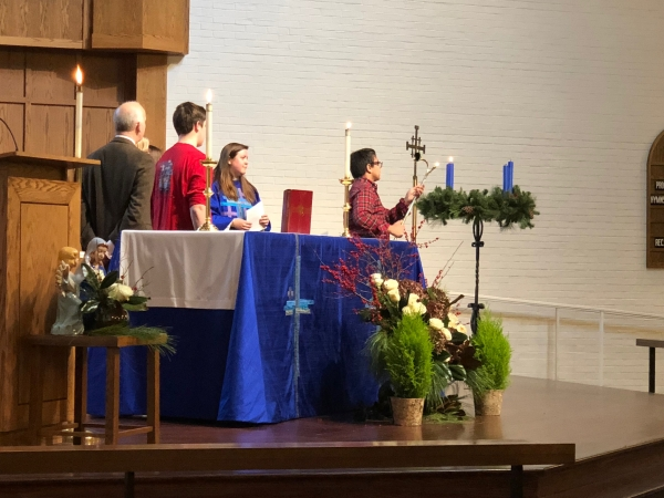 Worship on the First Sunday of Advent: November 29th, 2020
