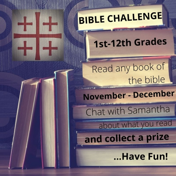 Children and Youth Bible Challenge!