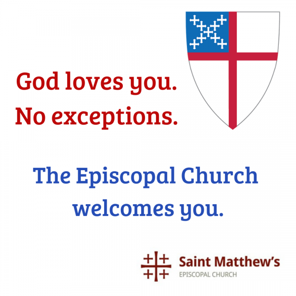Episcopal 101: Part 4, Sunday March 29th
