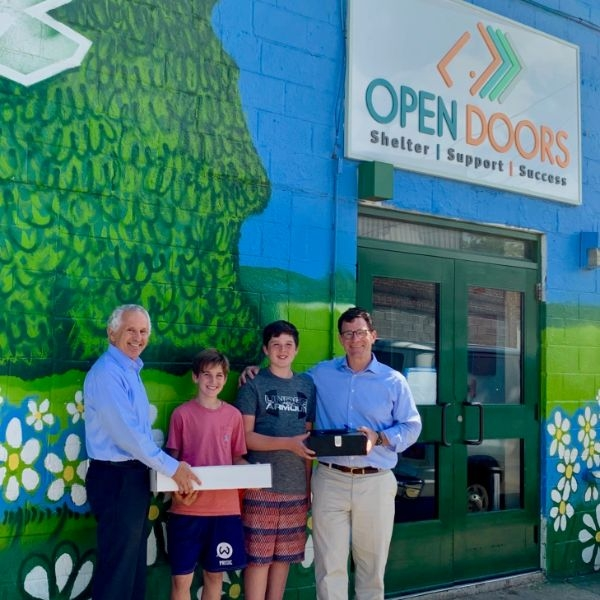 Our Youth Raise Money for Mission Partner Open Door!