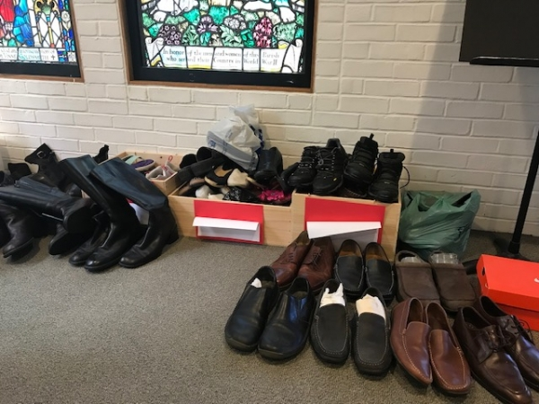 Thank You for Your Shoe Donations -- Keep Them Coming!