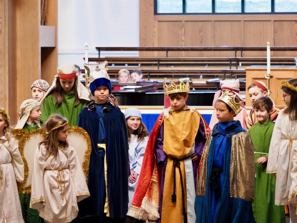 Christmas Pageant: Final Dress Rehearsal (12/14)