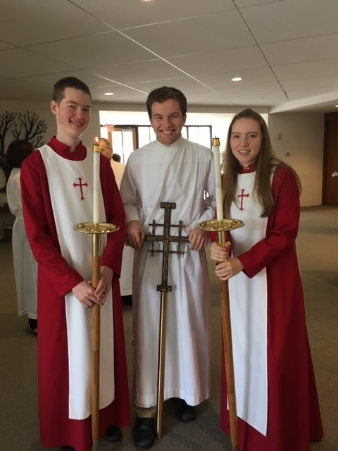Acolyte Training Sunday, October 20 at 11:15