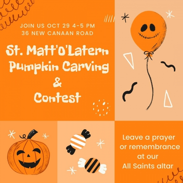 First Ever St. Matt'O'Lantern Carving & Contest!