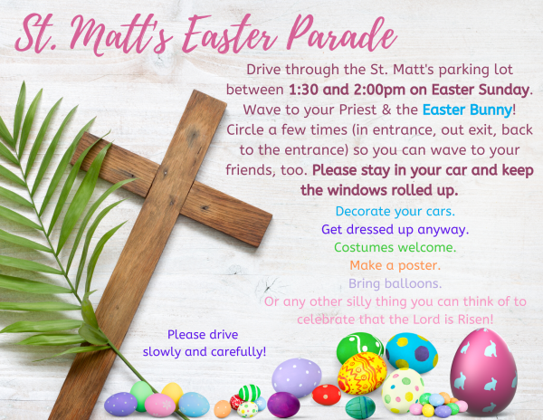 Easter Sunday: Worship & Parade