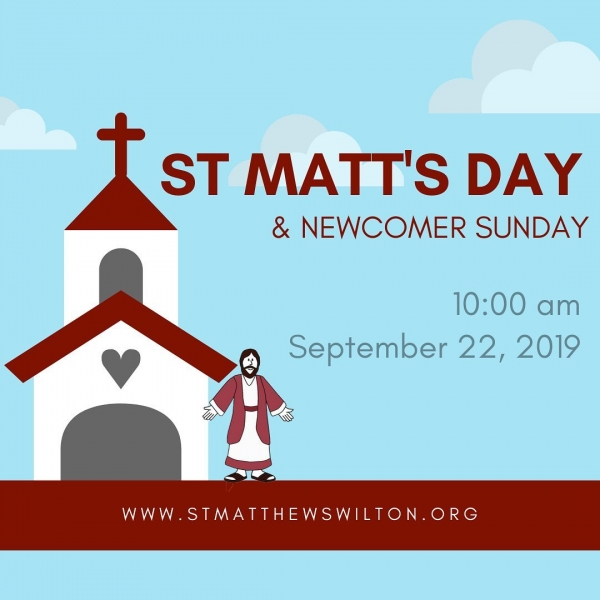 St. Matt's Day, New & New-ish-comers, and news for the week!