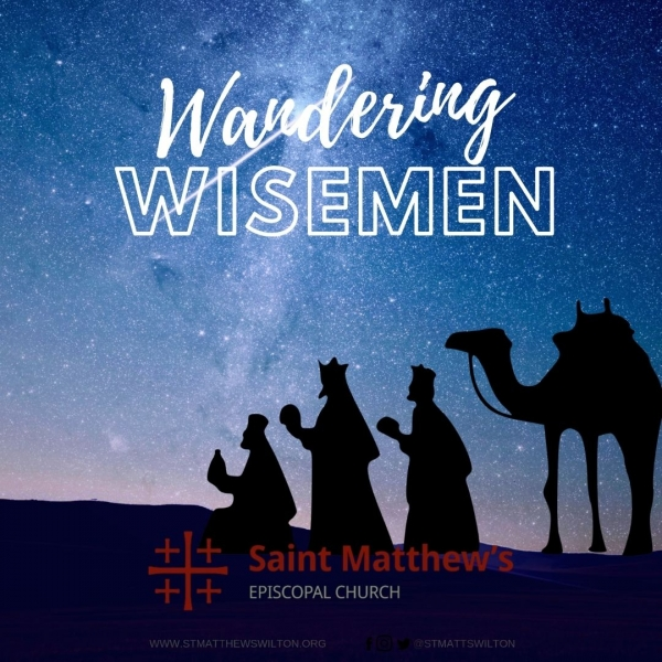 Wandering Wisemen will be traveling in our town!